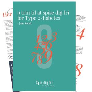9 trin til at spise dig fri for Type 2 diabetes
